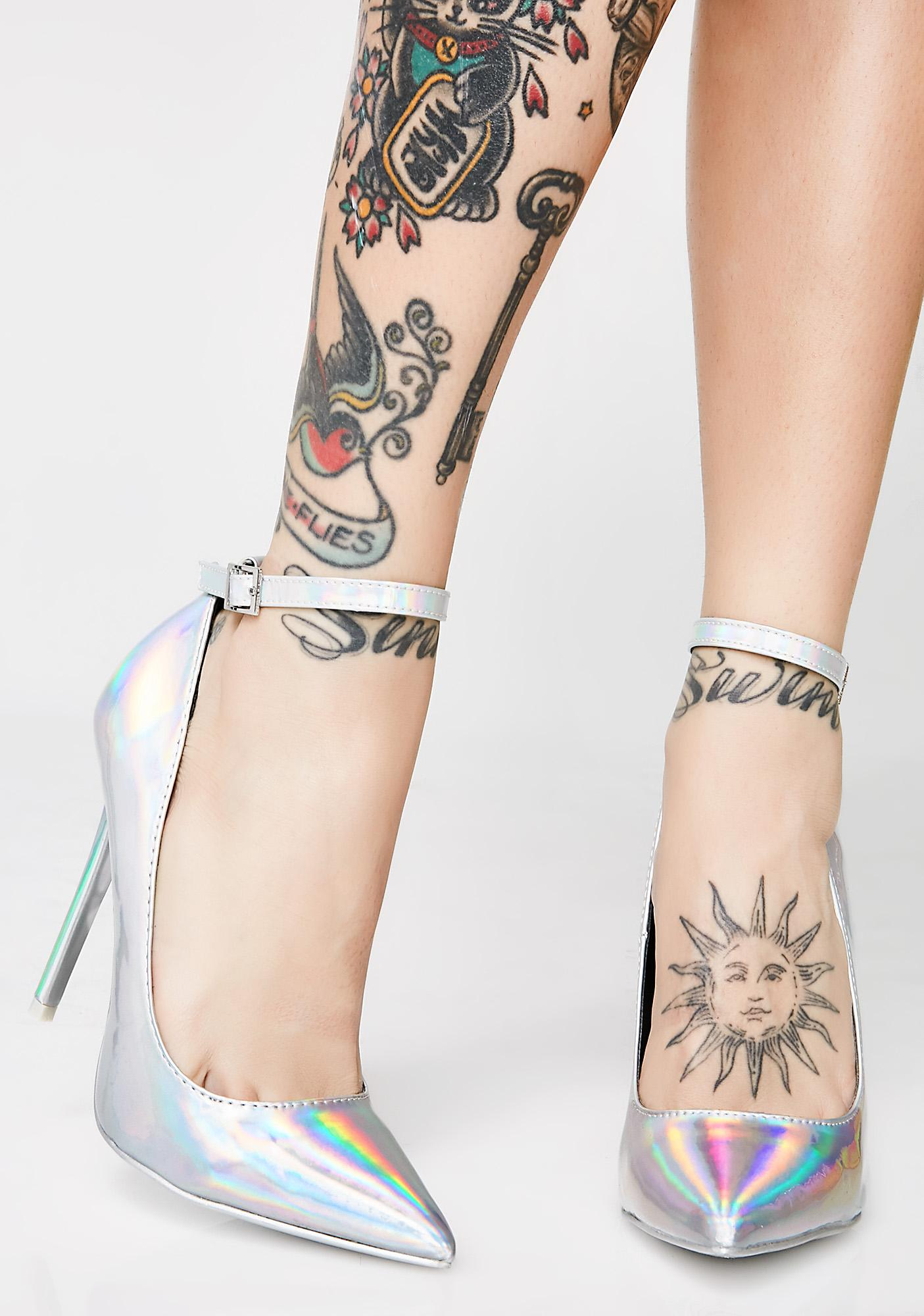 Second Guessing Hologram Heels