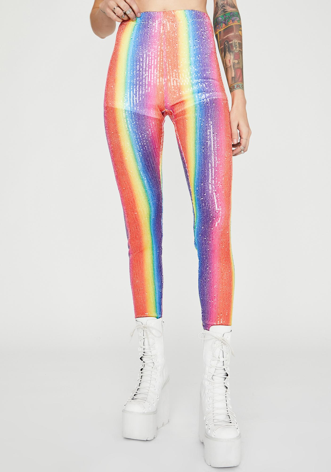 Candy Magic Sequin Leggings
