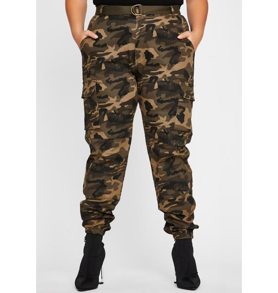 So Kush Now You See Me Cargo Pants