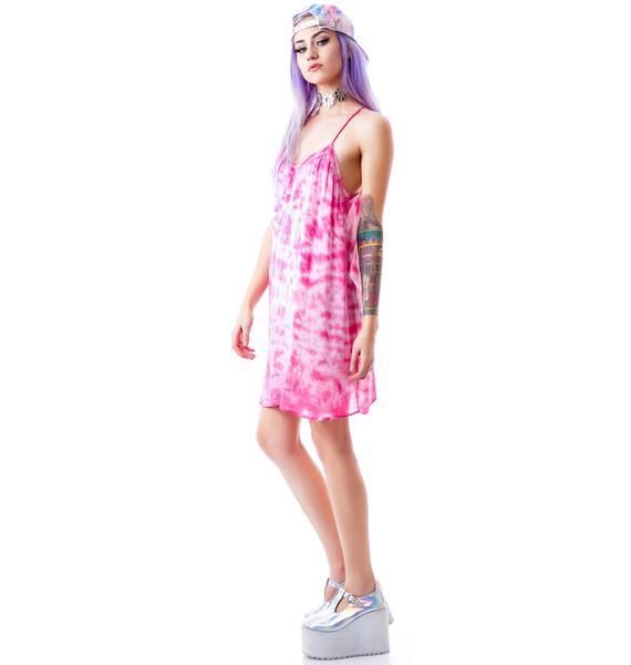 Joplin Tie Dye Slip Dress