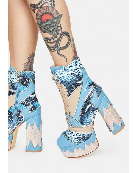 Diver Platform Boots