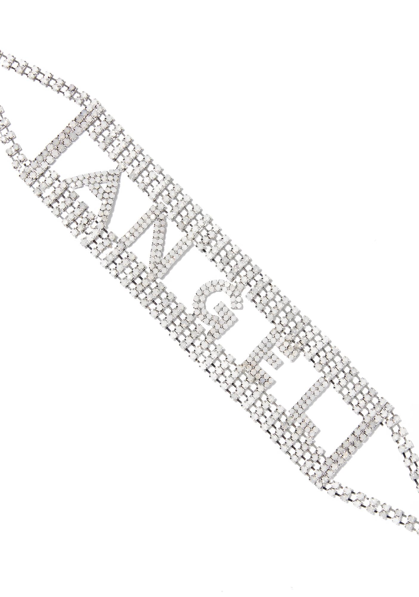 Heavenly Being Rhinestone Choker