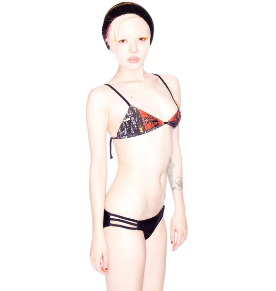 One Teaspoon Acapulco Two Piece Bikini