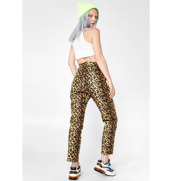 The Ragged Priest Puma Leopard Pants