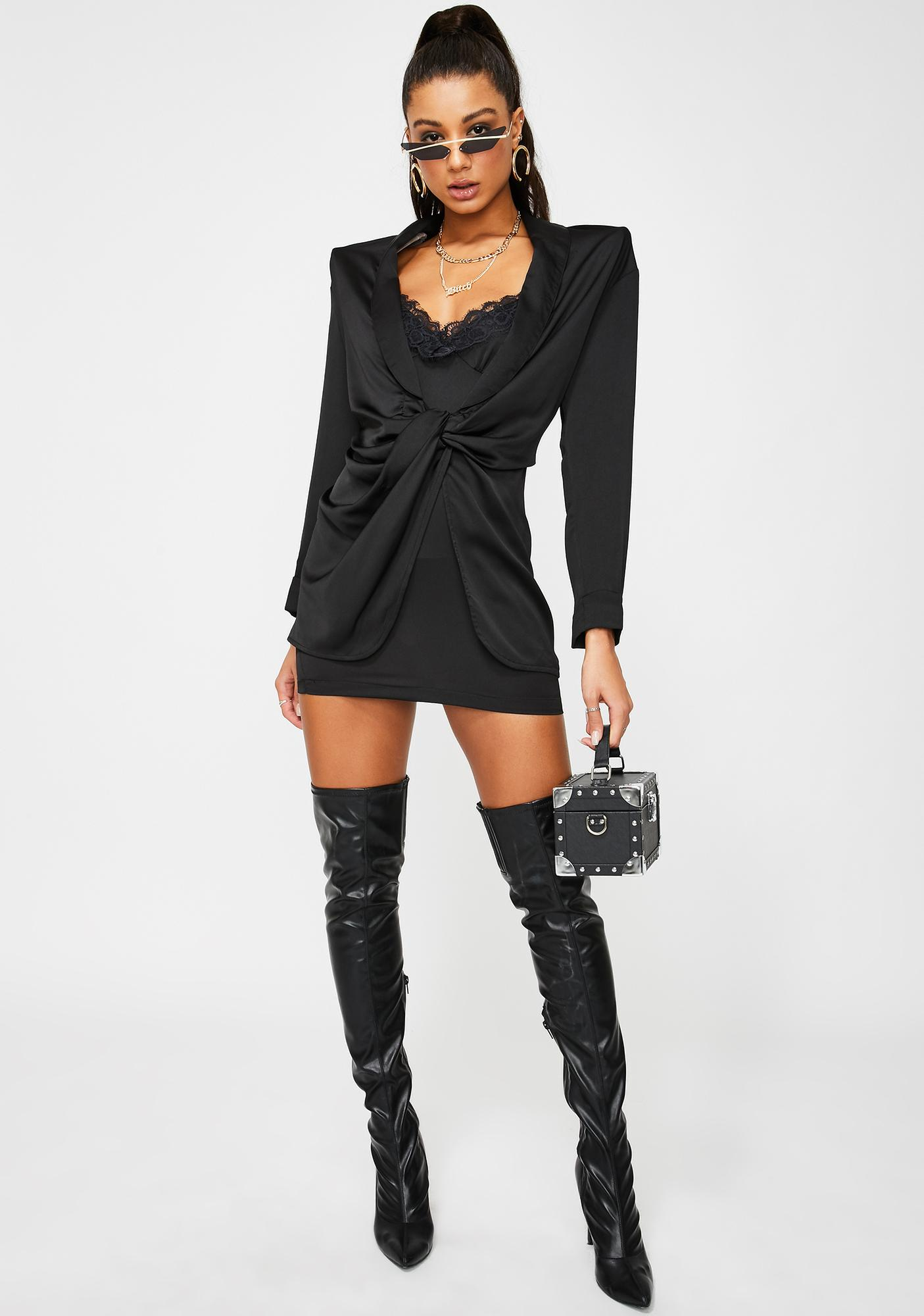 Lioness Downtown Girl Mini Dress