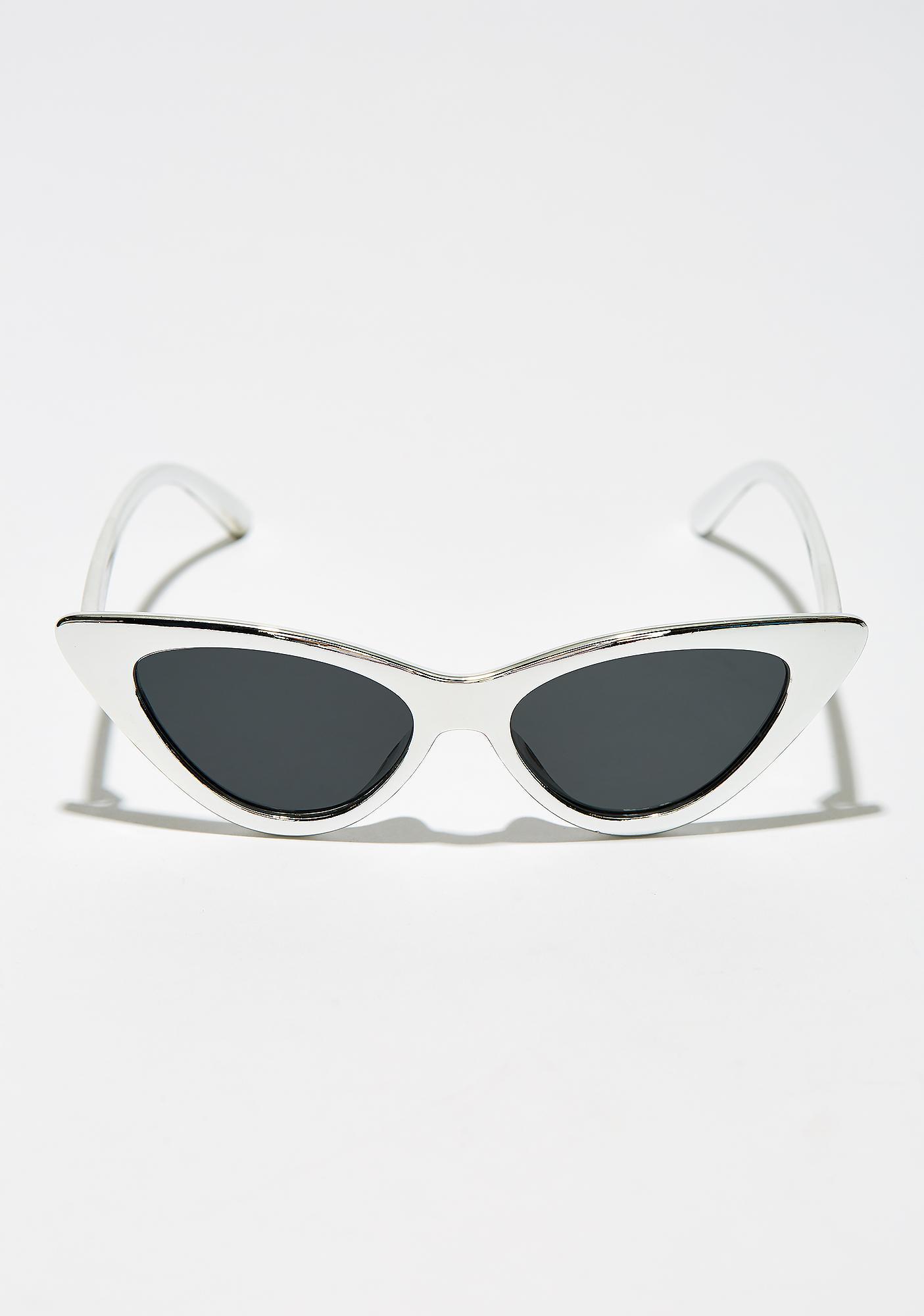 ec354d82510 ... Shine On Ya Metallic Sunglasses ...