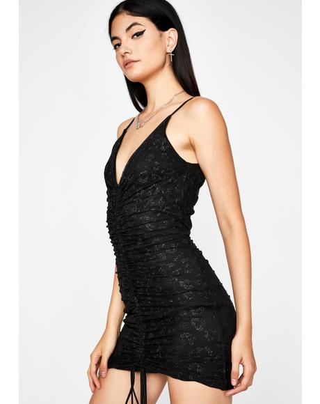 Noir Wild Spirit Ruched Dress