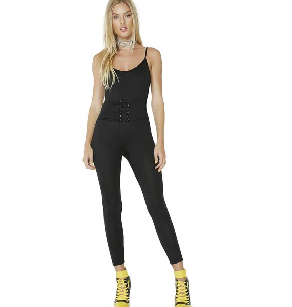 Shade Of It All Belted Catsuit
