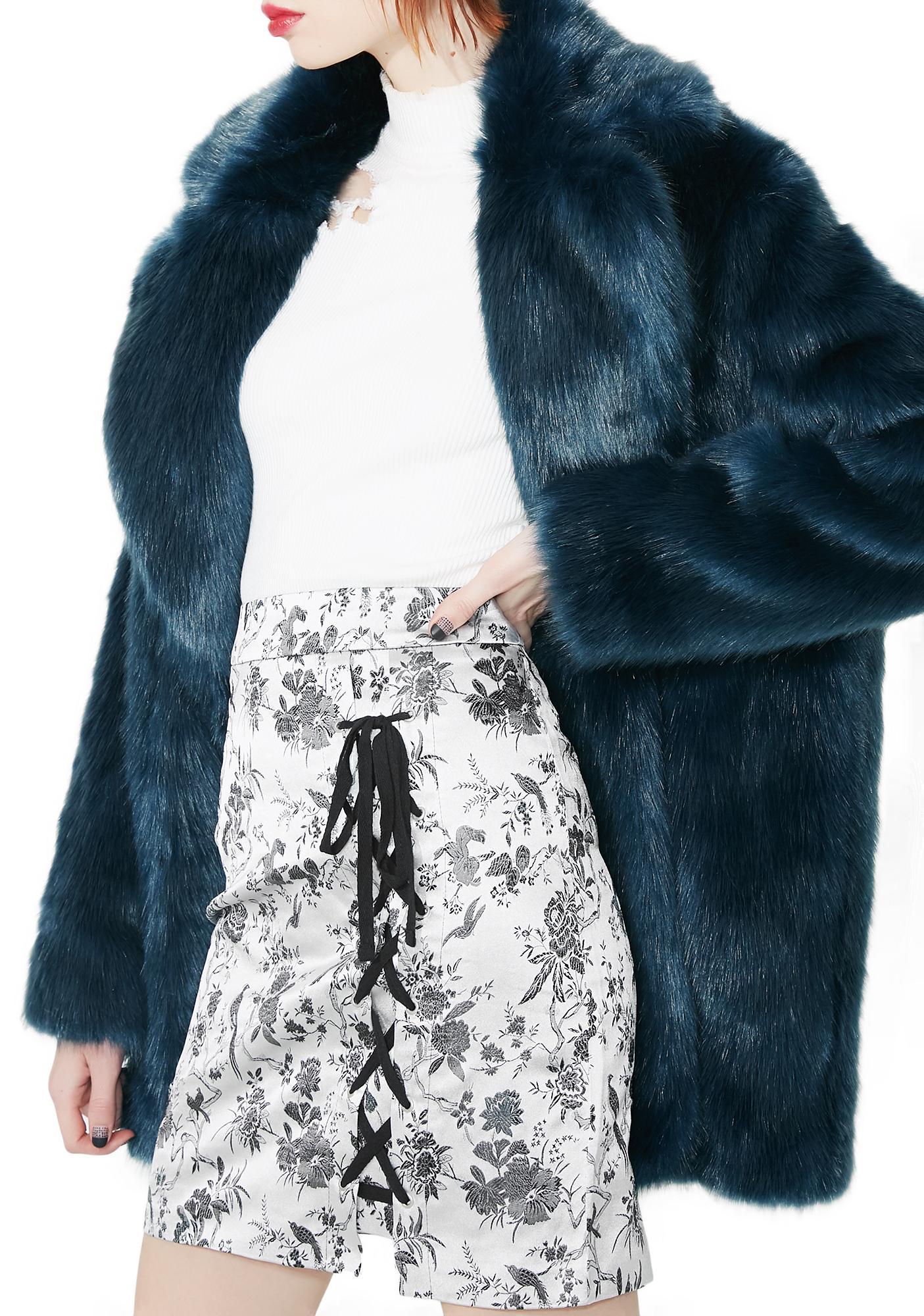 Glamorous Antoinette Lace-Up Skirt