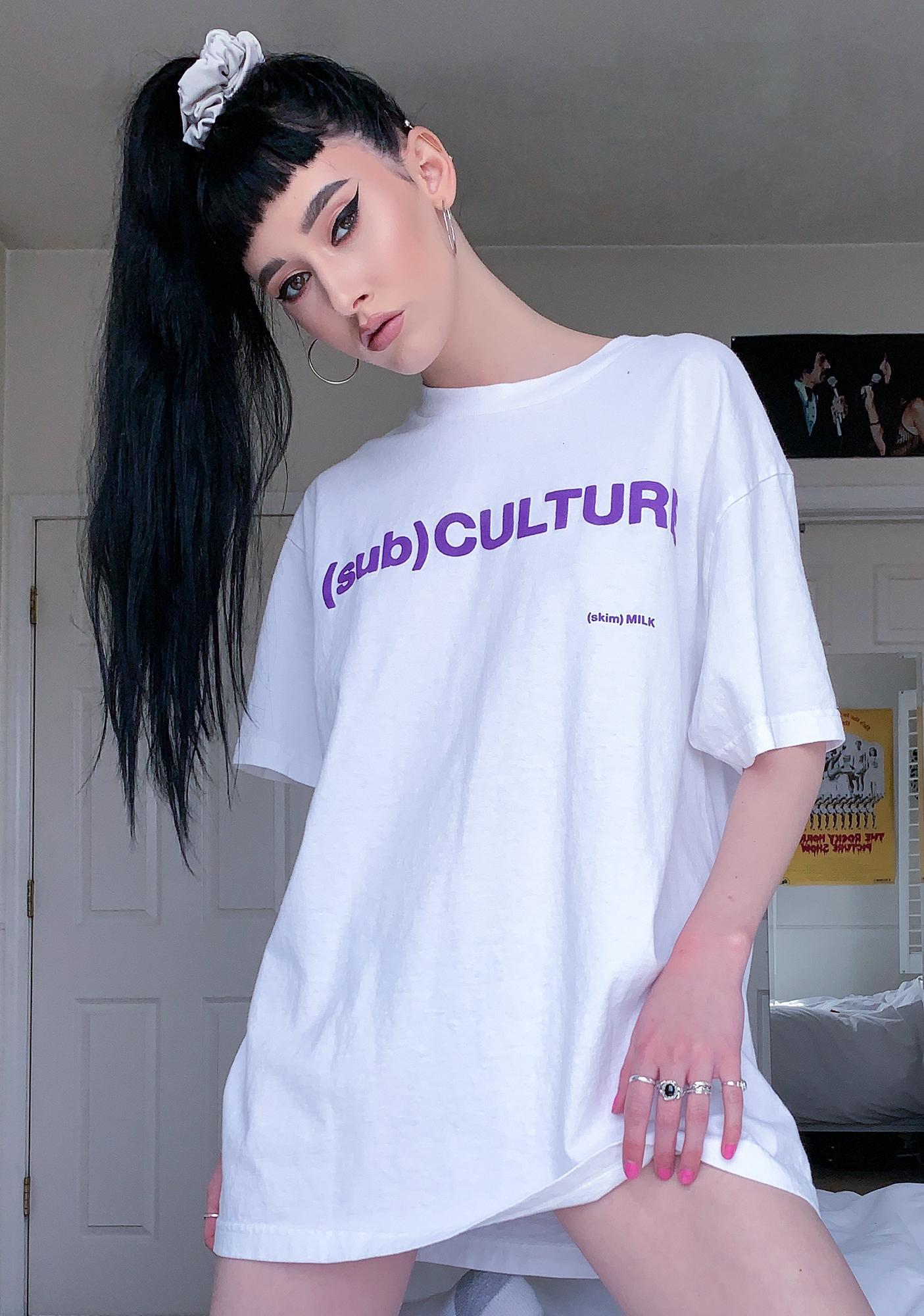 Skim Milk Subculture Graphic Tee