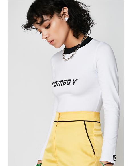 Tomboy Long Sleeve Tshirt