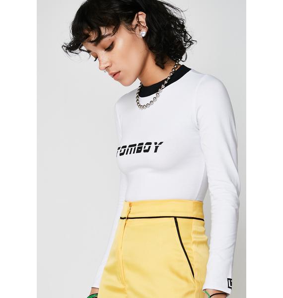 LOVE TOO TRUE Tomboy Long Sleeve Tshirt