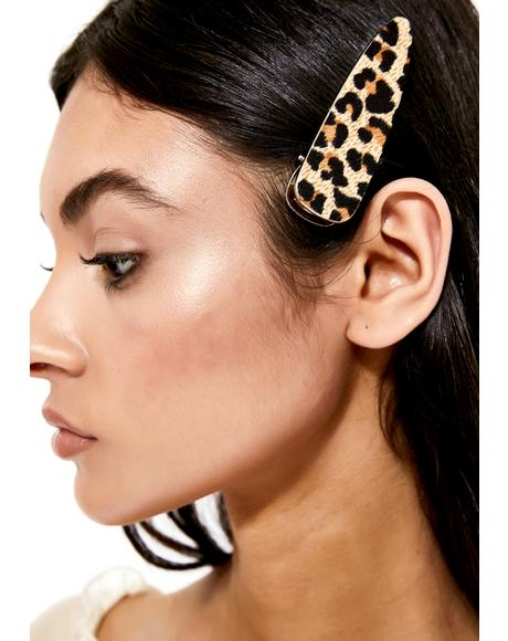 Catwalk Queen Leopard Hair Clip