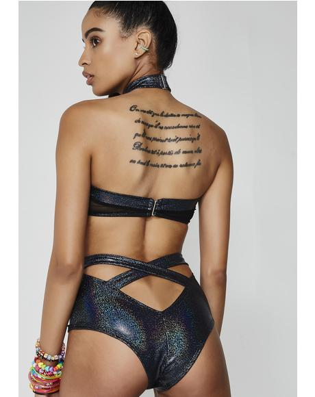 Cyber Siren Cut-Out Bodysuit