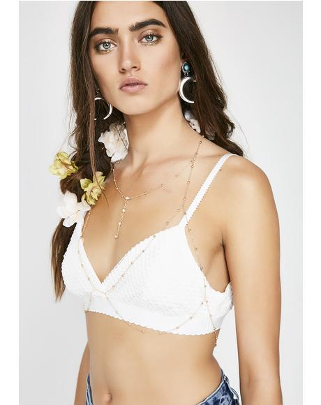 Model Misbehavior Body Chain Bralette
