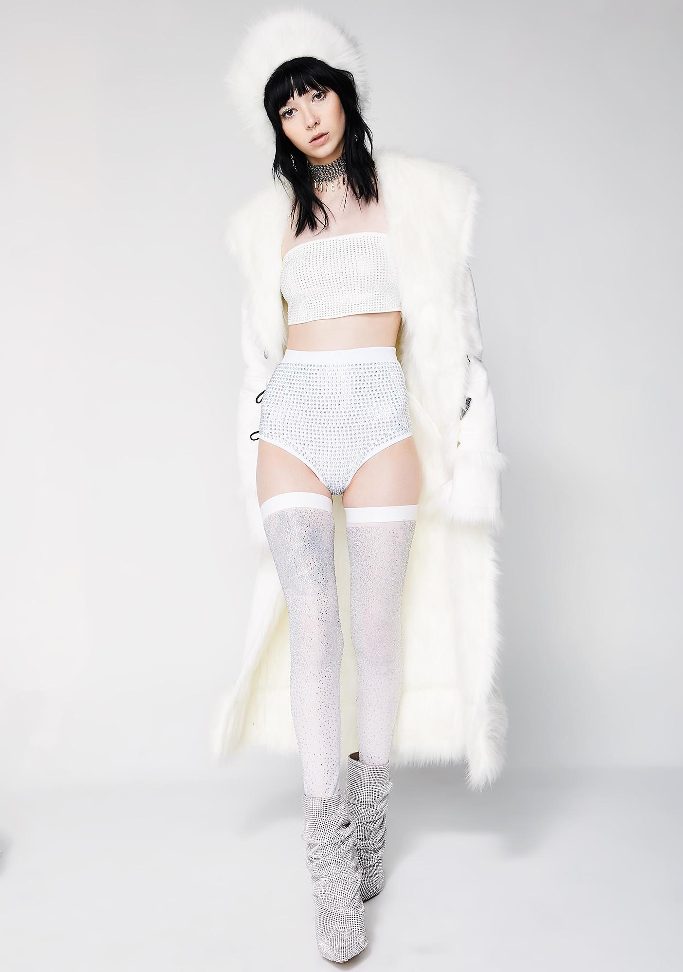Kiki Riki Hypernova Rhinestone Booty Shorts