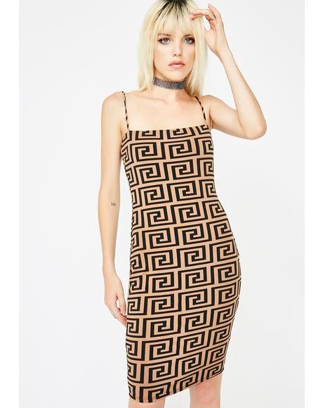 Fauxsace Bodycon Dress