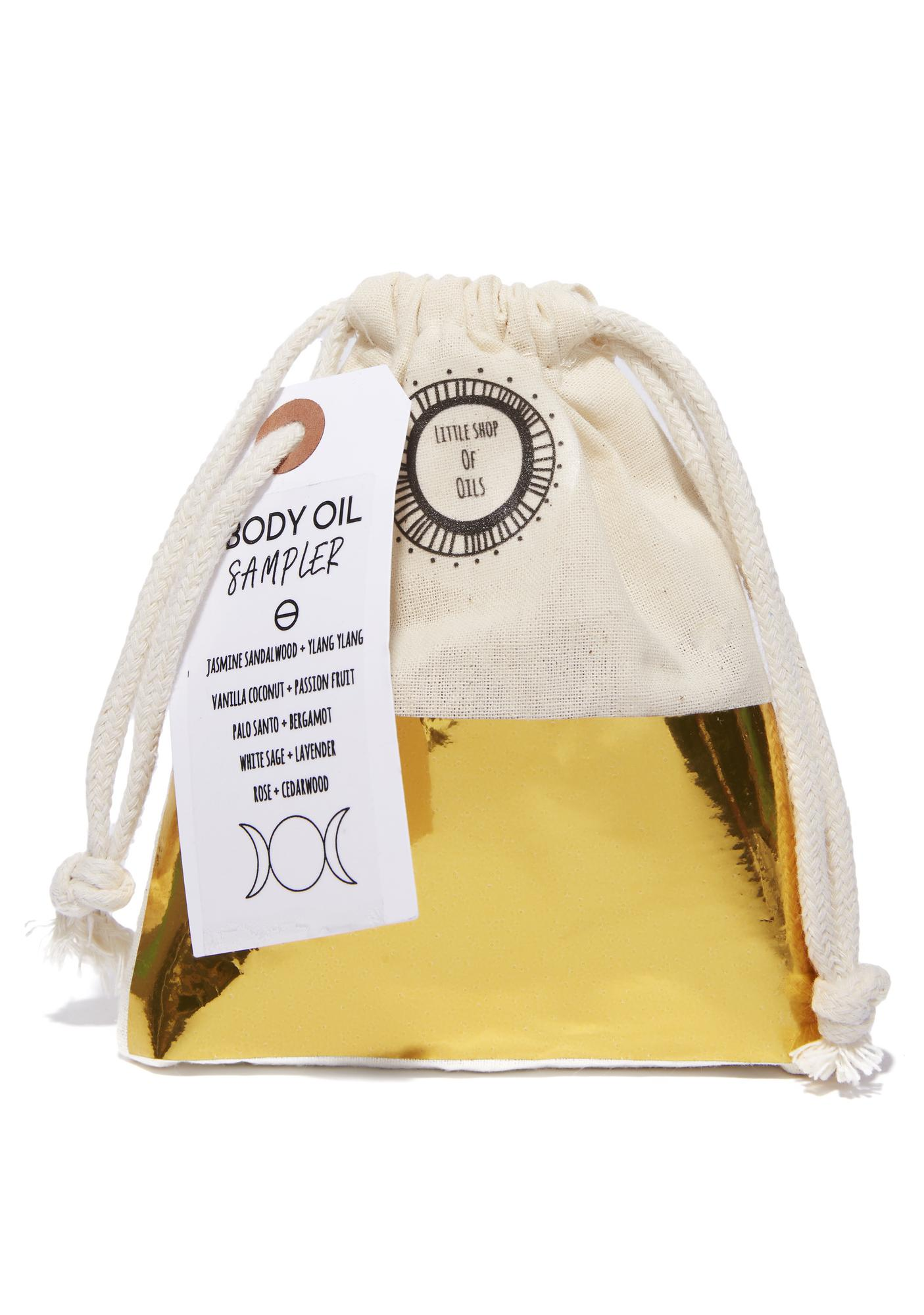 Little Shop of Oils Body Oil Sampler