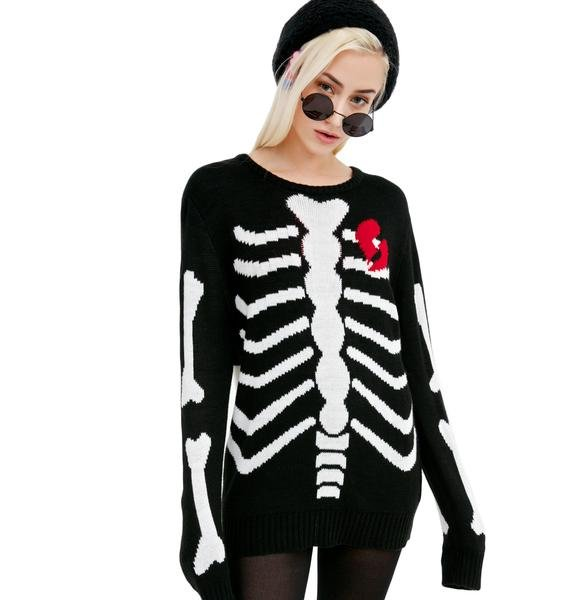 Current Mood Lovely Bones Sweater