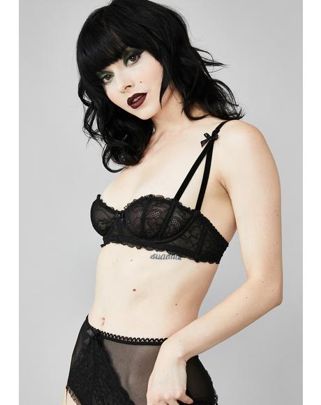 Sinful Surrender Lace Bra