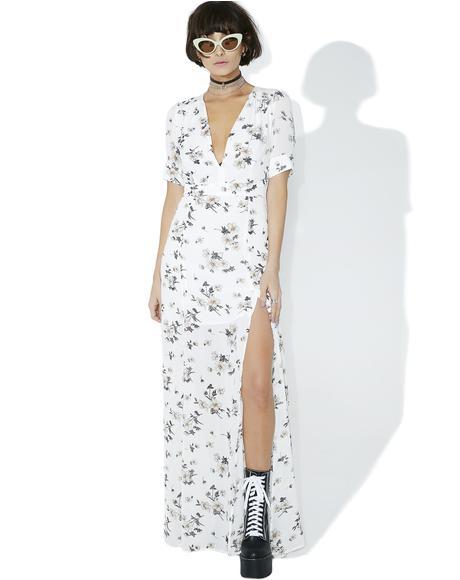 Garden Gal Floral Maxi Dress
