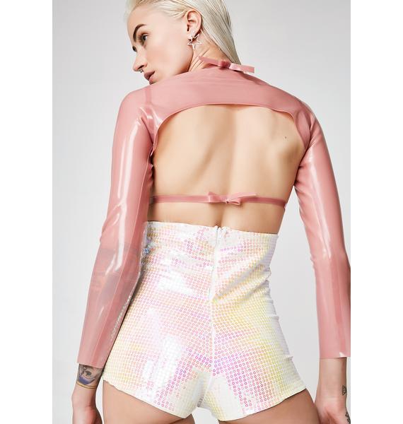 Kiki Riki So High On Ya Sequin Shorts
