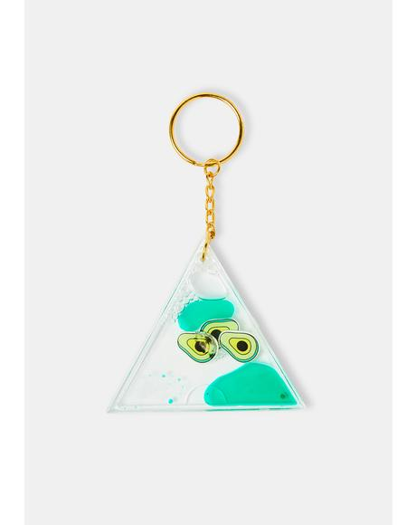 Health Nut Keychain