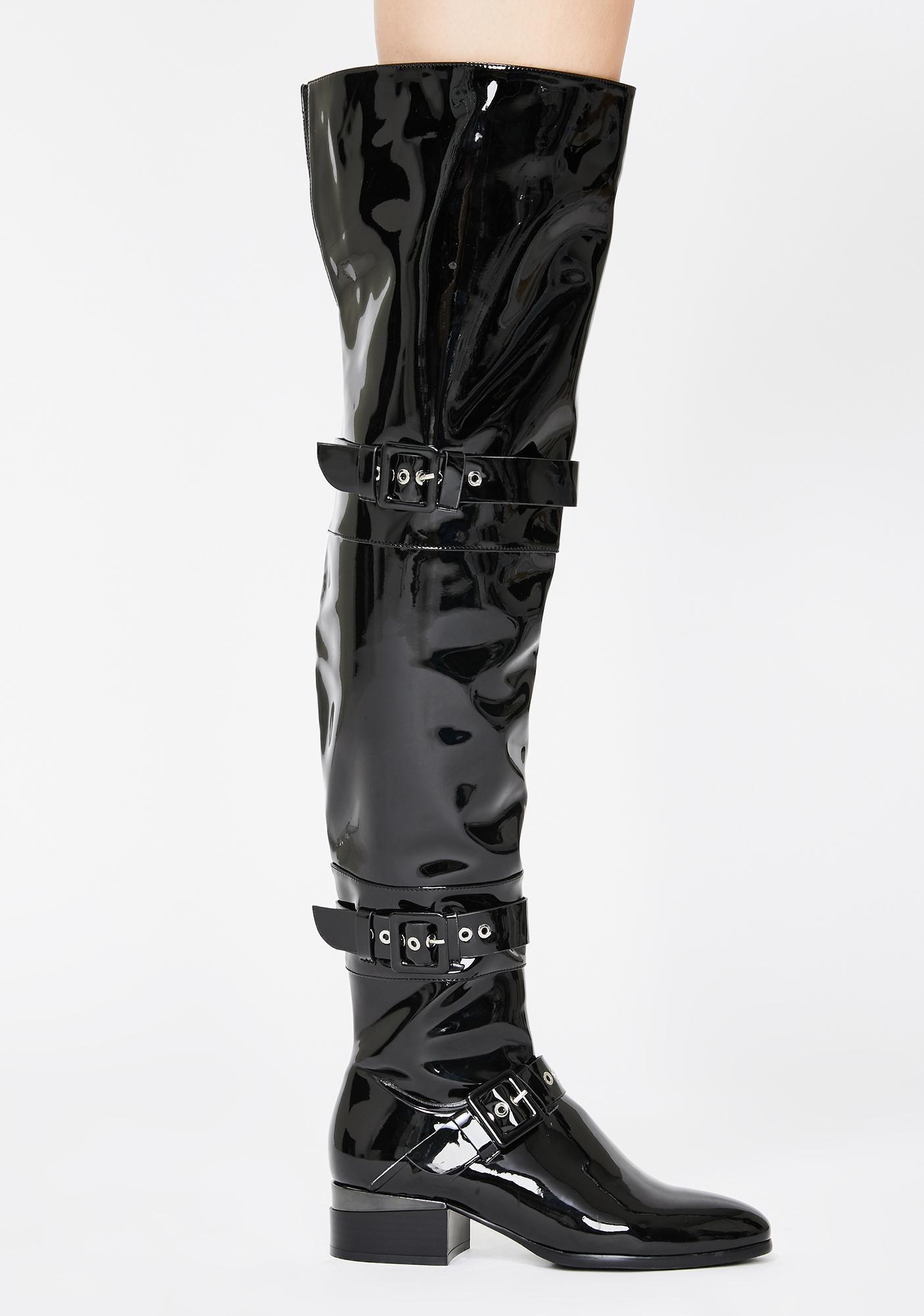 AZALEA WANG Sofia Thigh High Boots
