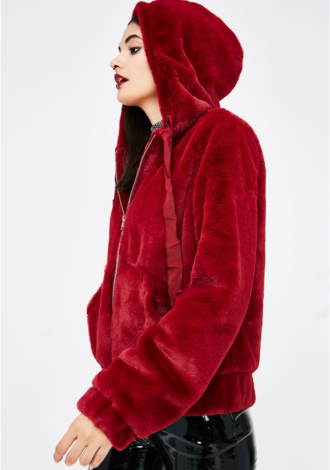 Warm Hearted Furry Hoodie