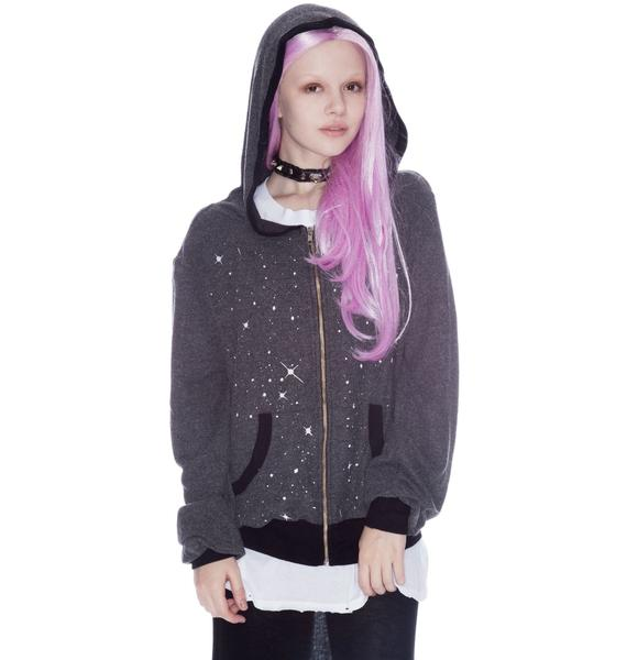 Wildfox Couture Malibu Zip Up I Believe Hoodie