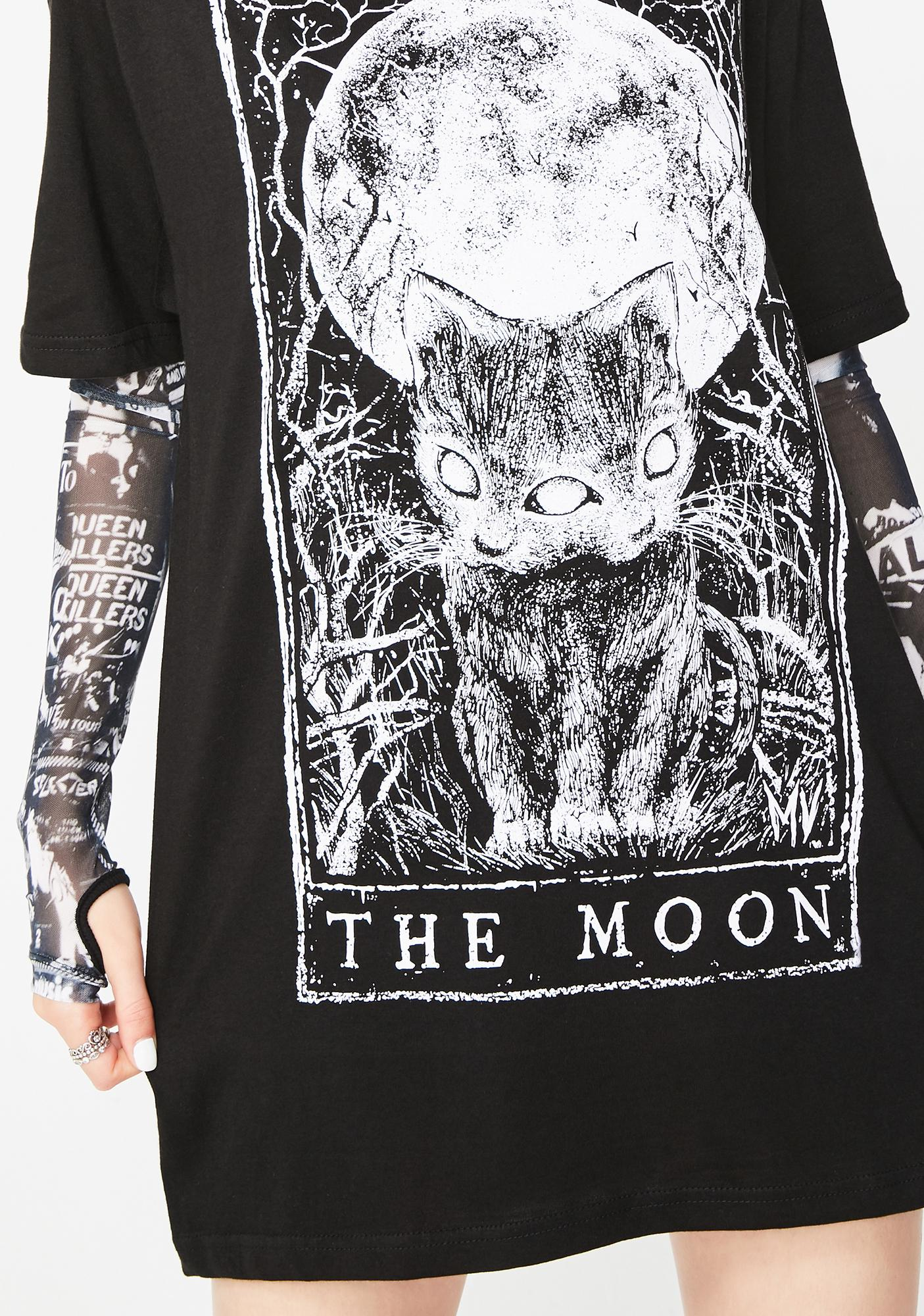Mortus Viventi The Moon T-Shirt