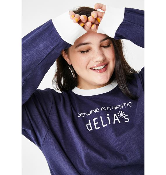 dELiA*s by Dolls Kill She's The Real Deal Graphic Tee