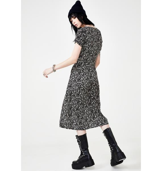 Disturbia Hope Midi Dress