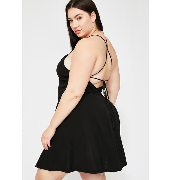 Lux Dangerous Dame Mini Dress