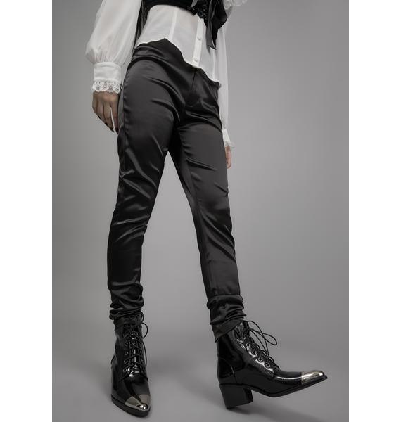 Widow Honorable Mention Patent Ankle Boots
