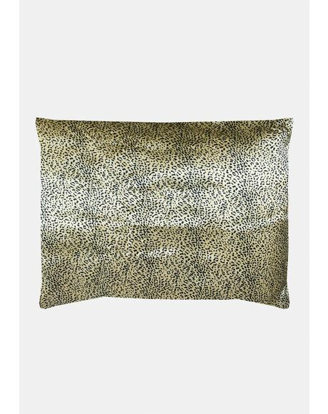 Jaguar Sweet Dreams Satin Pillowcase