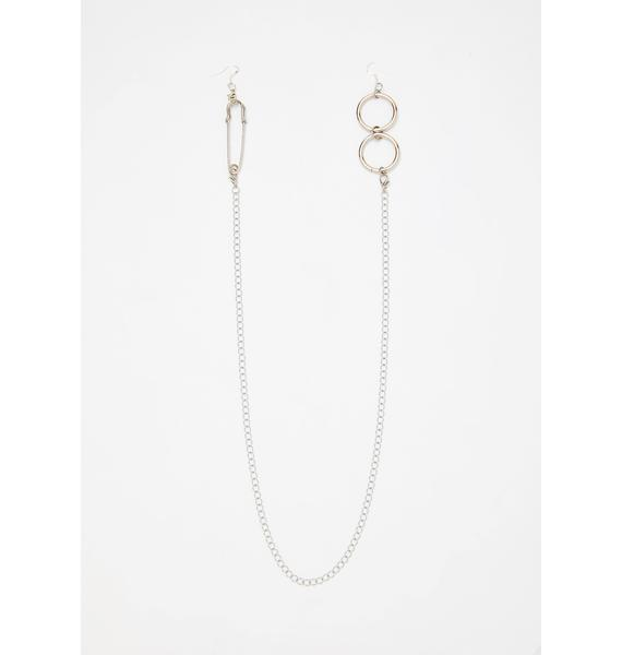 Rare N' Reckless Chain Earrings