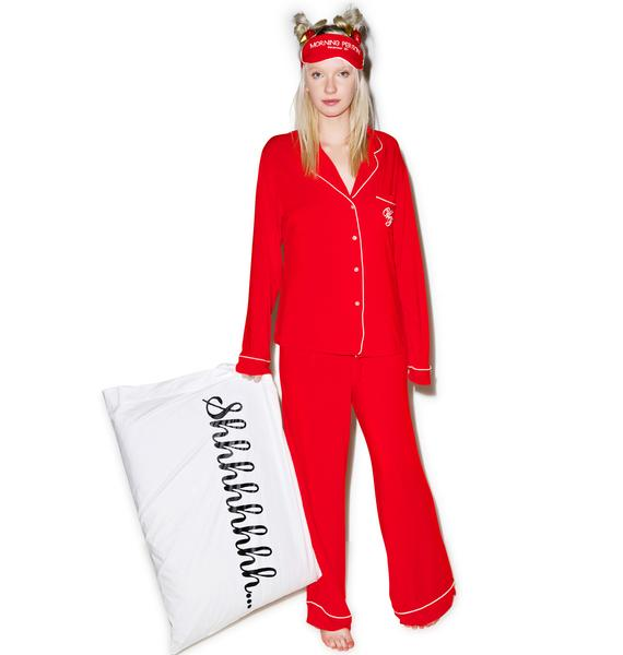 Wildfox Couture Morning Person Classic Pajama Set