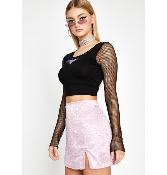 Nice Try Leopard Skirt