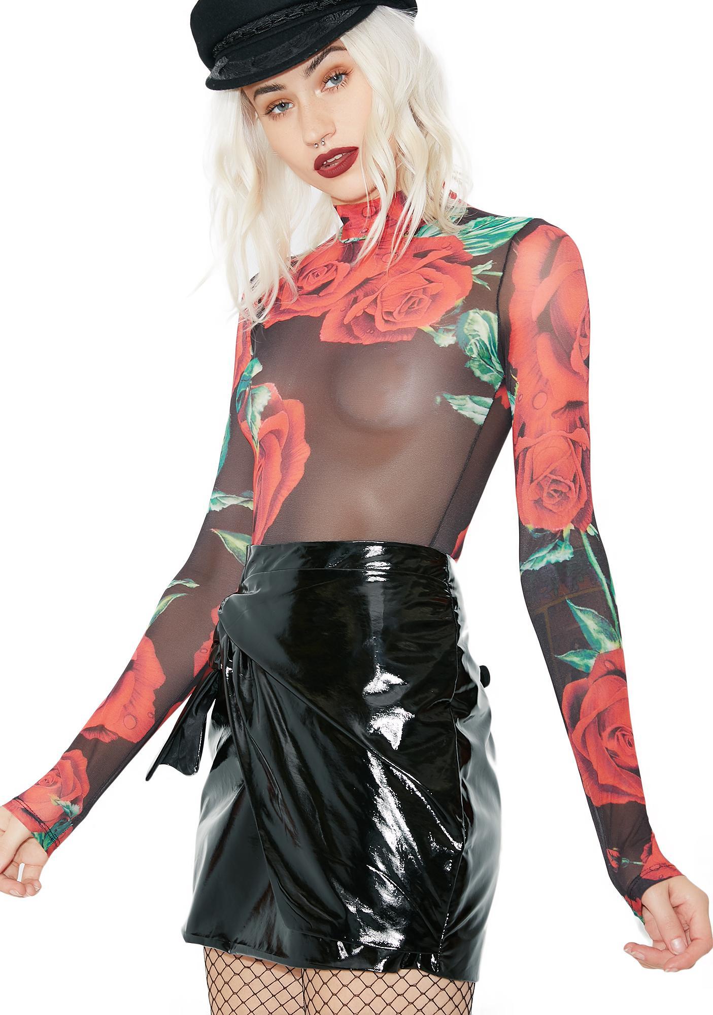 Kiki Riki Make A Wish Sheer Bodysuit