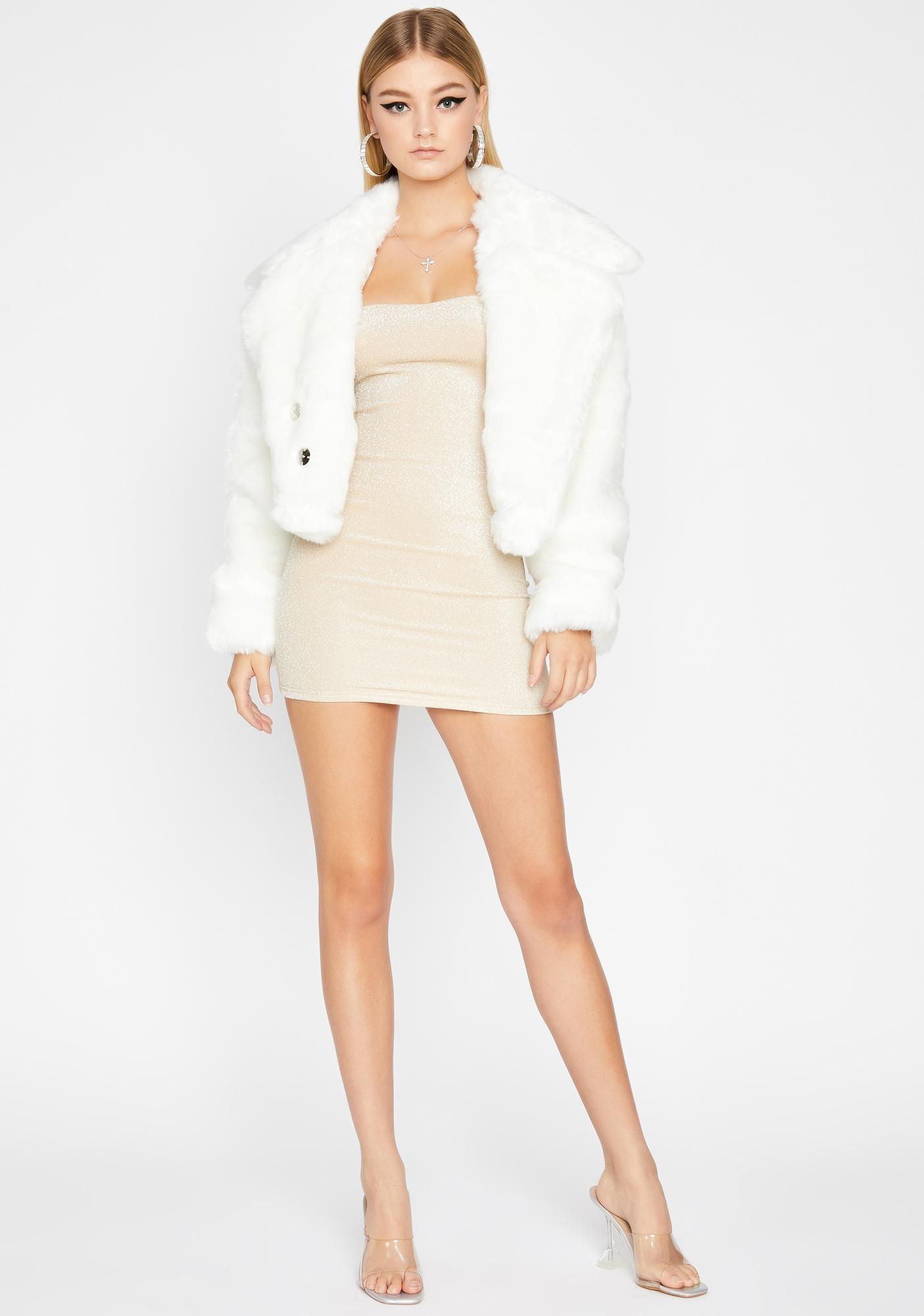 Icy Doll Life Faux Fur Jacket