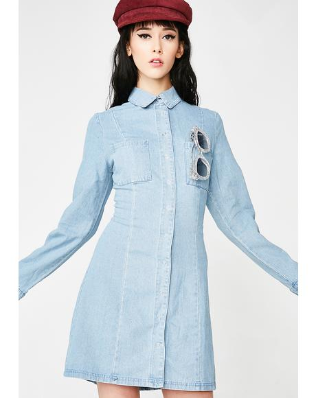 Easy Going Denim Dress
