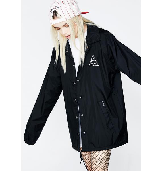 HUF 420 Plantlife Coaches Jacket