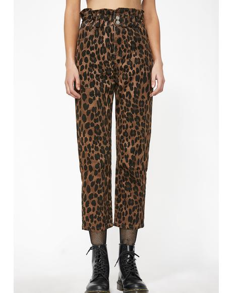 Savage Life Leopard Pants