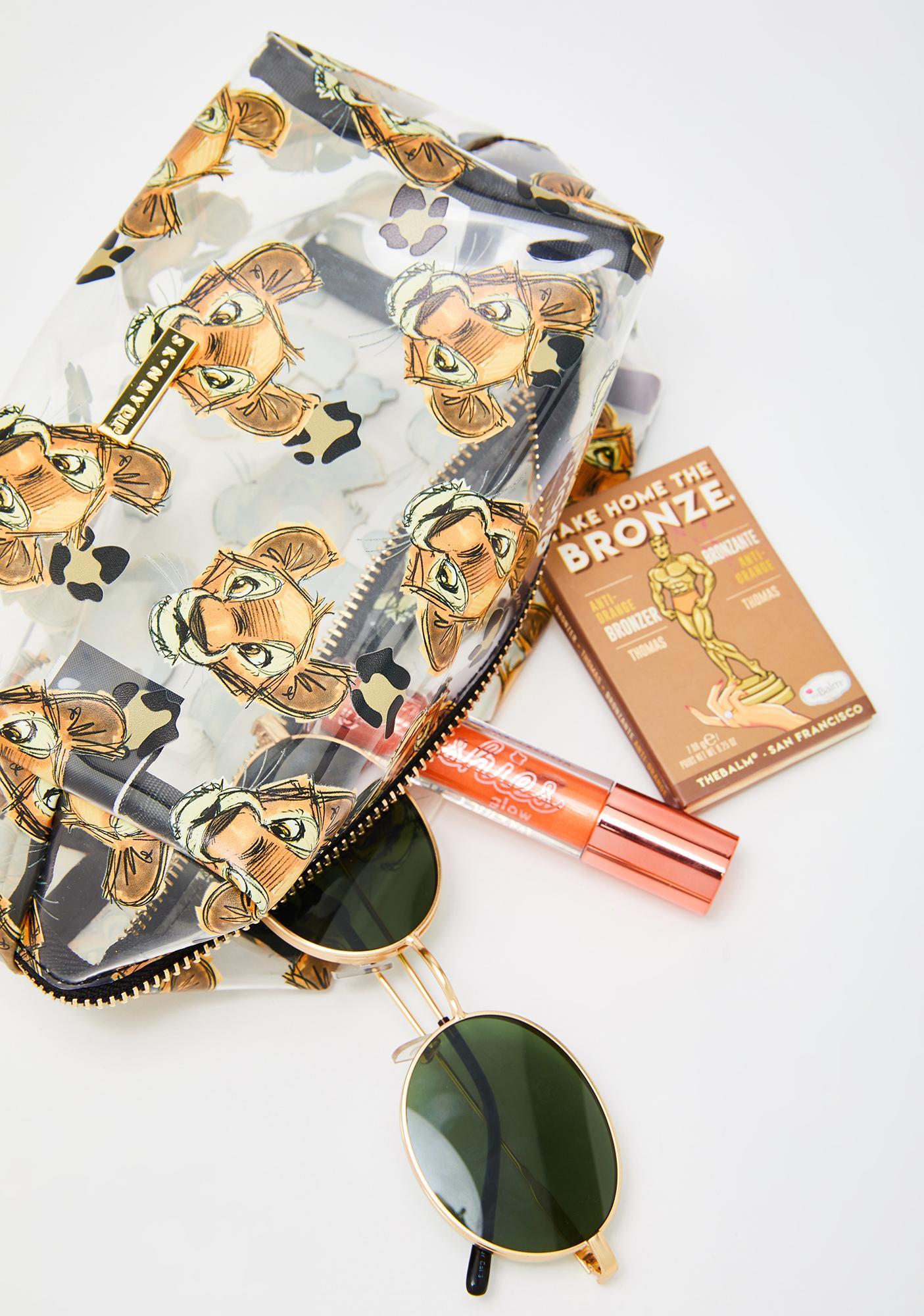 Skinnydip x Disney Simba Makeup Bag