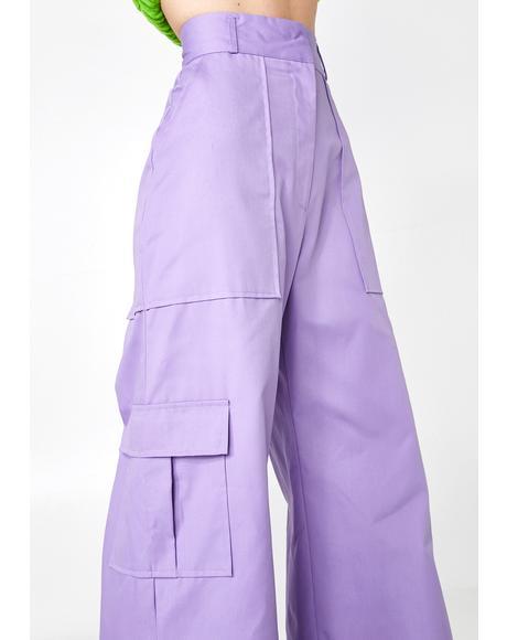 Lilac Edge Pants
