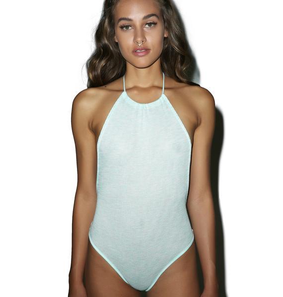 Fresh 'N Clean Halter Bodysuit