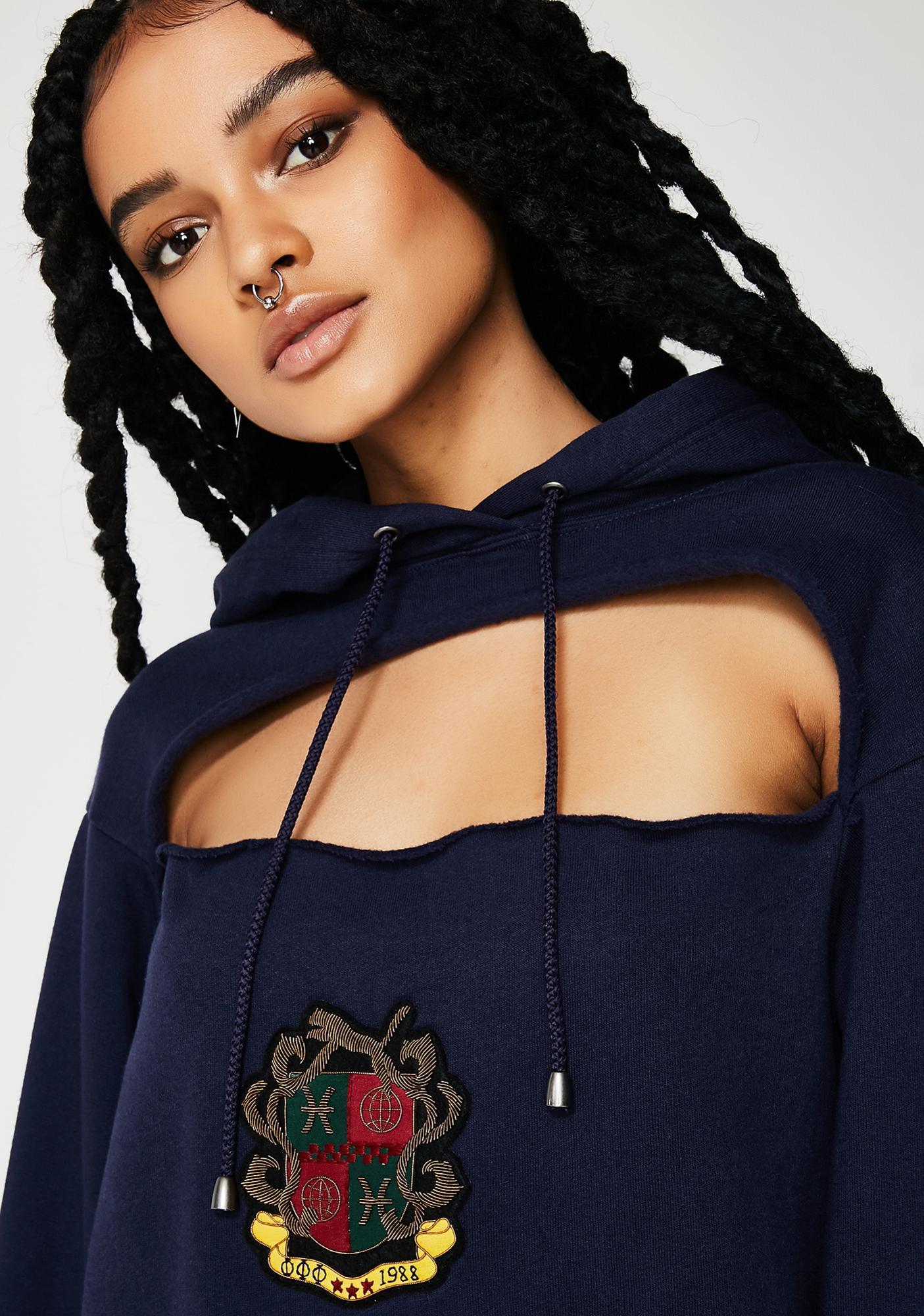 PUMA FENTY PUMA By Rihanna Cut-Out Hoodie