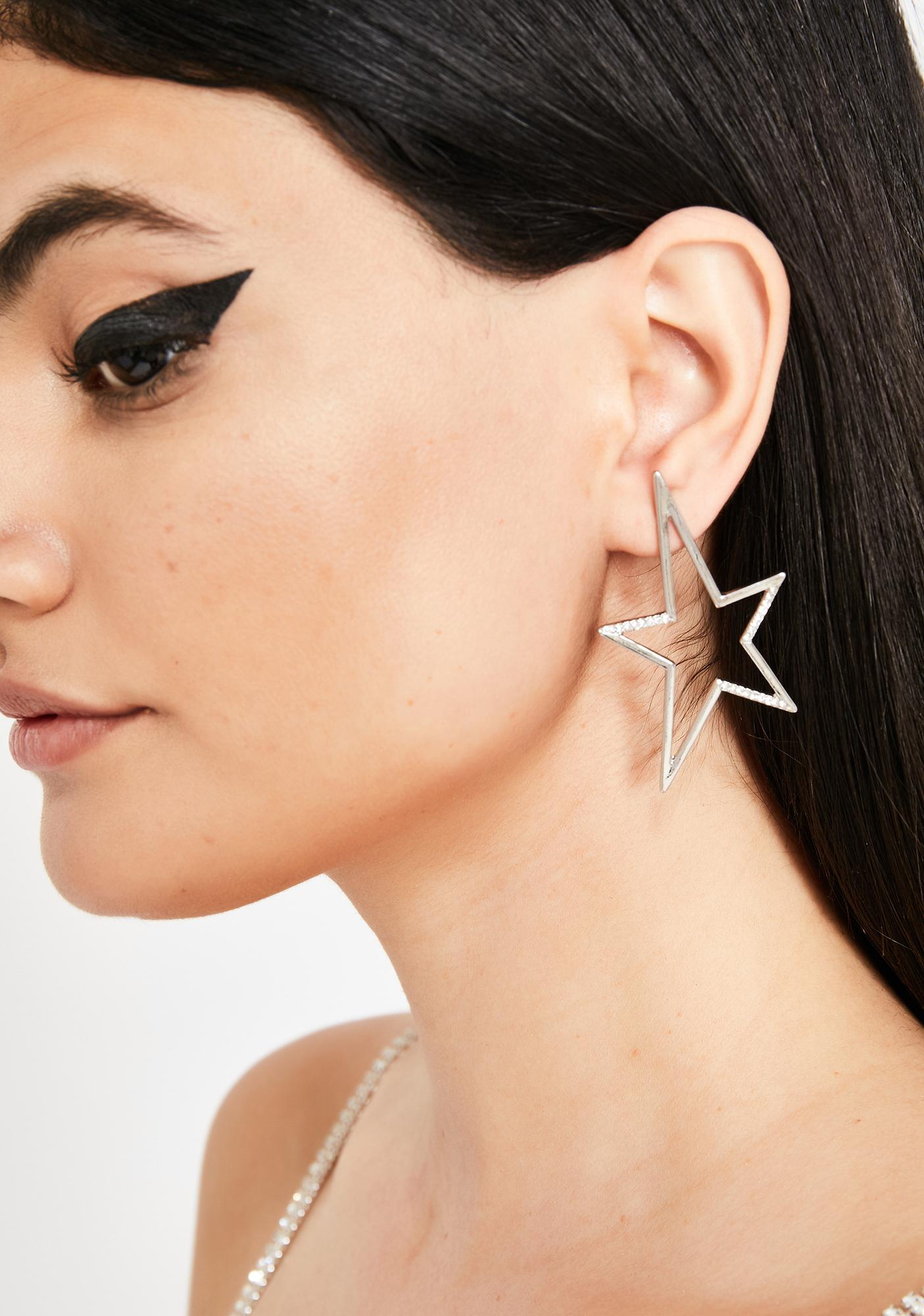 Twinkle Bright Rhinestone Earrings