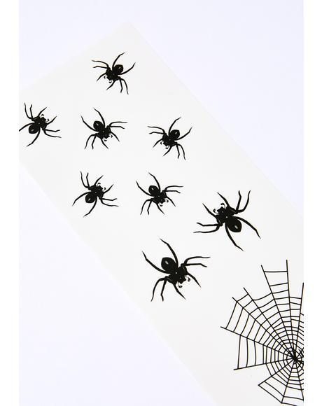 Creepy Crawly Spider Tattoos
